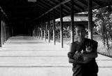 Myanmar Bonze et chat 01