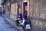 Lijiang joueuses de cartes 01