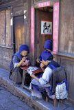 Lijiang joueuses de cartes 02